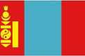 Mongolia car flag