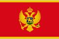 Montenegro car flag