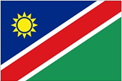 Namibia car flag