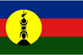 New Caledonia car flag