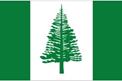 Norfolk Island car flag