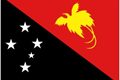 Papua New Guinea car flag
