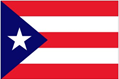 Puerto Rico car flag