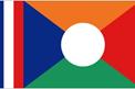 Réunion car flag