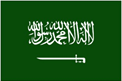 Saudi Arabia car flag