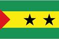 São Tomé & Príncipe car flag