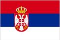 Serbia car flag
