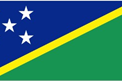 Solomon Islands car flag