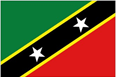 St. Kitts & Nevis car flag