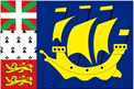 St. Pierre & Miquelon car flag