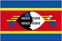 Swaziland car flag
