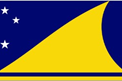 Tokelau car flag