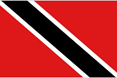 Trinidad & Tobago car flag