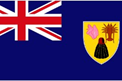 Turks & Caicos Islands car flag