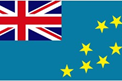 Tuvalu car flag
