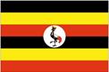 Uganda car flag