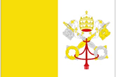 Vatican City car flag