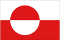 Greenland car flag
