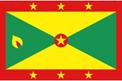 Grenada car flag