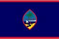 Guam car flag