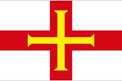Guernsey car flag