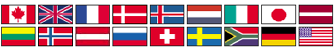 National car flags