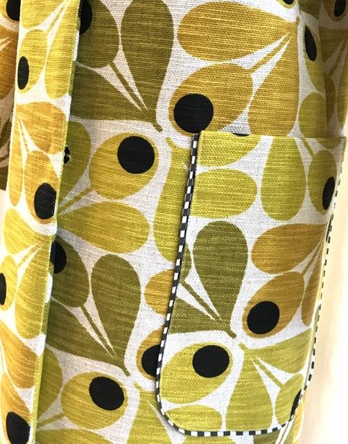Kappa iris Retro gul SaraLaholm unik design mer färg åt folket