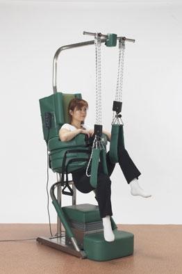 Terapeuten kan manipulera rygg och ben för optimal och snabb behandling