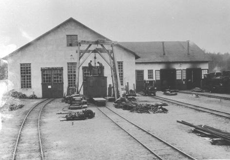 Gamla valsverket omgjort till järnvägsverkstad