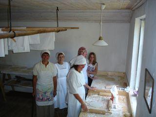 Glada bakerskor
