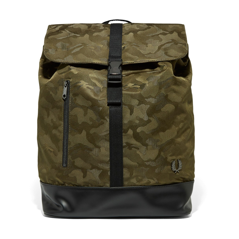 fred-perry-camo-ryggsack-gron-4116278-1000x1000