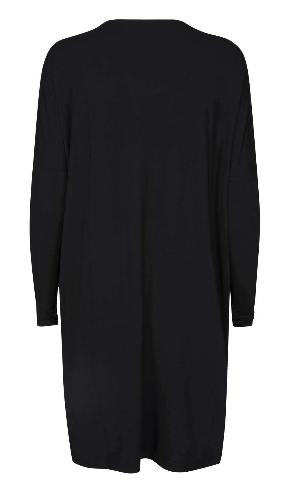 ilsejacobsen-tshirt62-oversized-tunika-svart