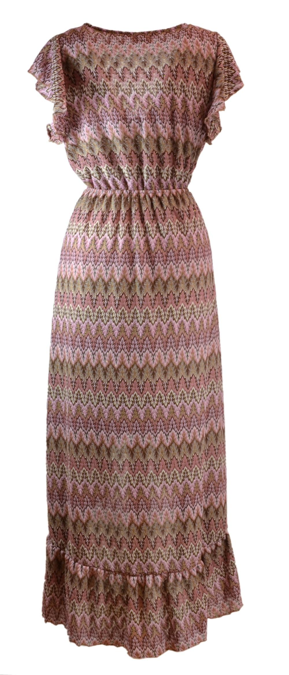 chicalondon-hanna-volangklänning-rosa-M4202