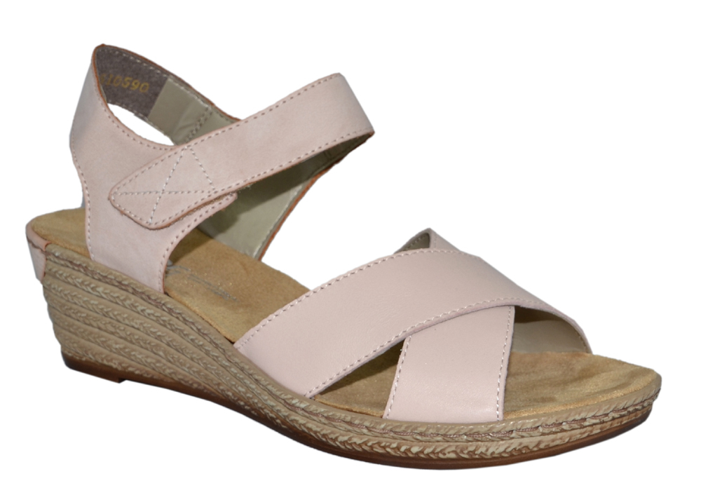 rieker-62443-sandalett-kilklack-ljusrosa
