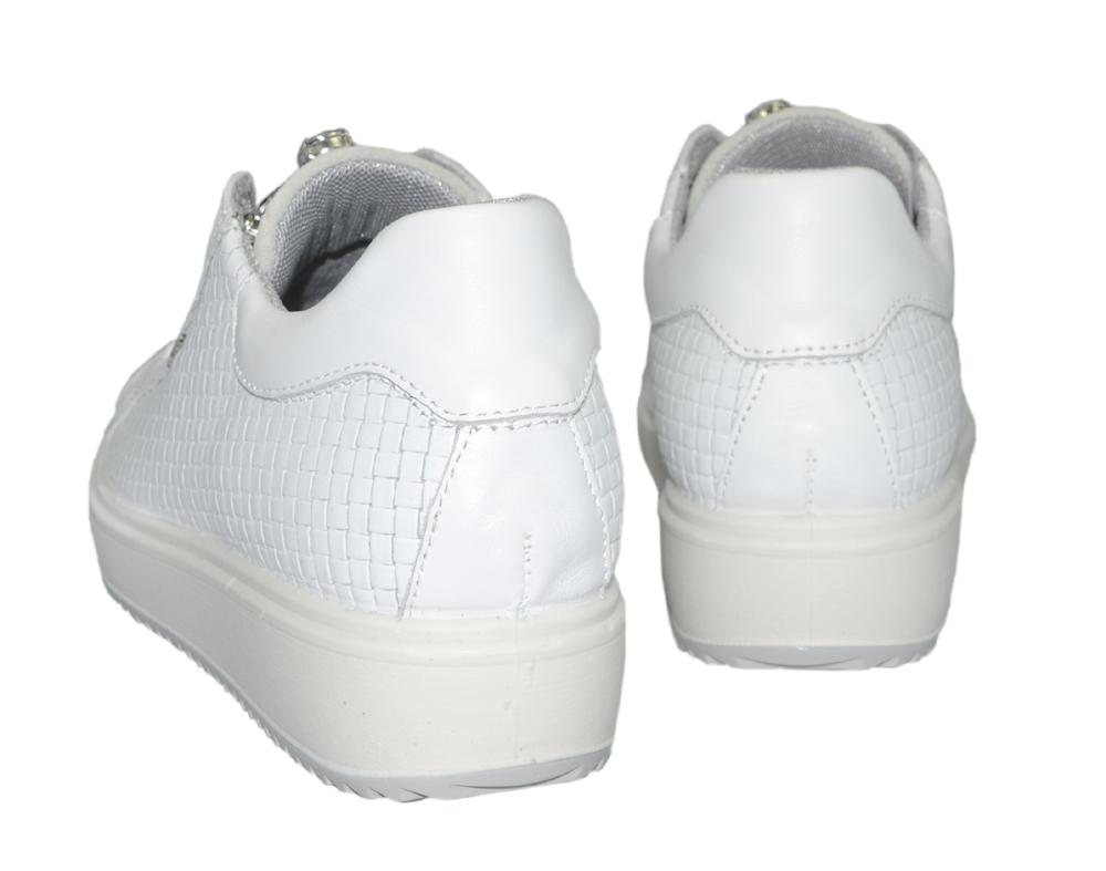 igi&co-sneakers-inbyggd-kilklack-vit-strass