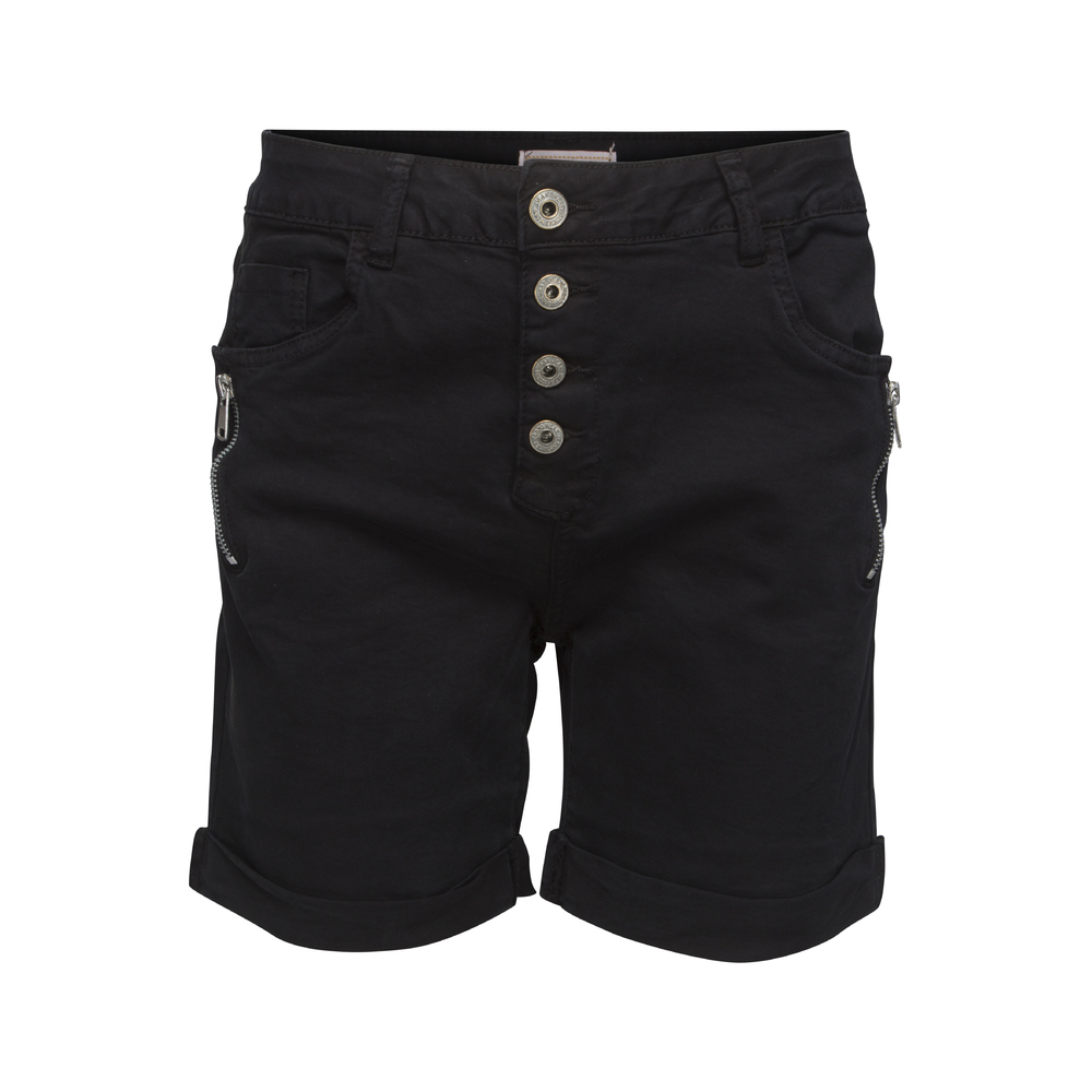 chicalondon-shorts-zip-svart