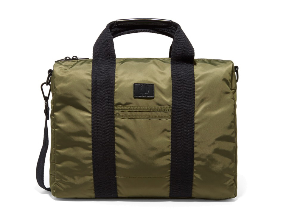 fredperry-nylon-work-bag-olive