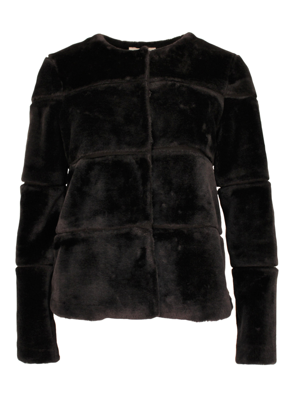 New Kahla Faux Fur jacket Black