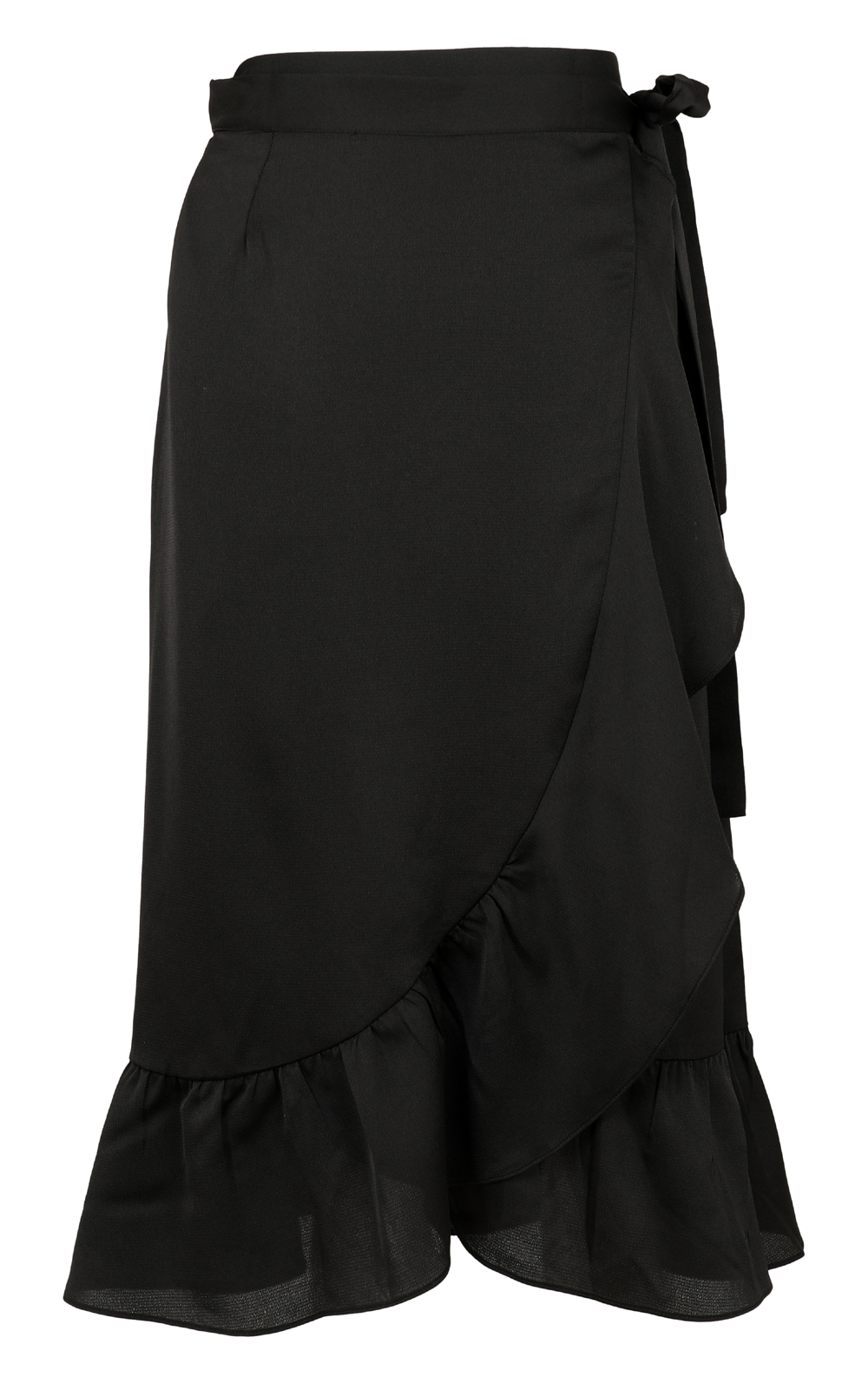 Mika solid skirt black 1