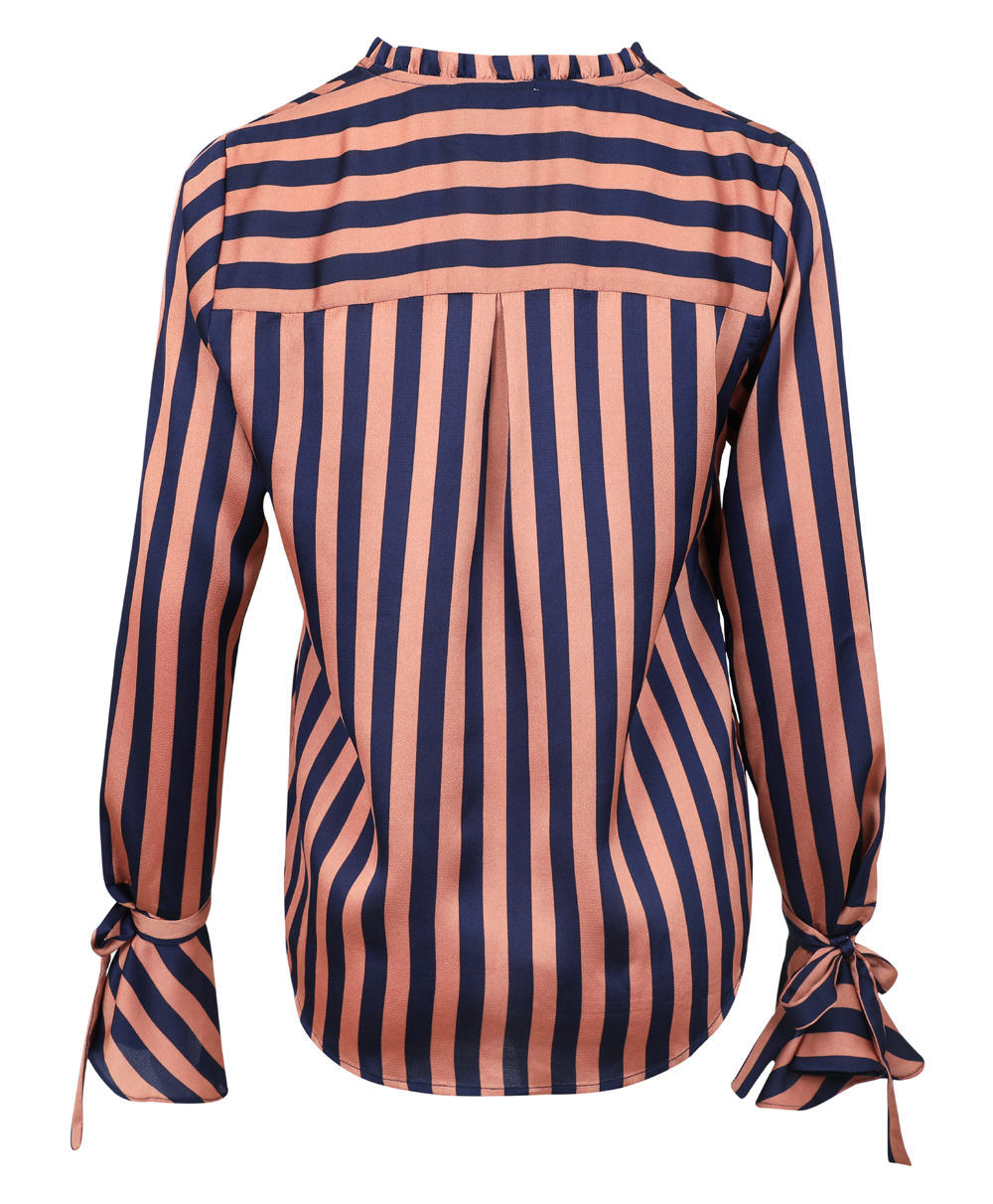 neo-noir-arizona-broad-stripe-blouse-burnt-orange