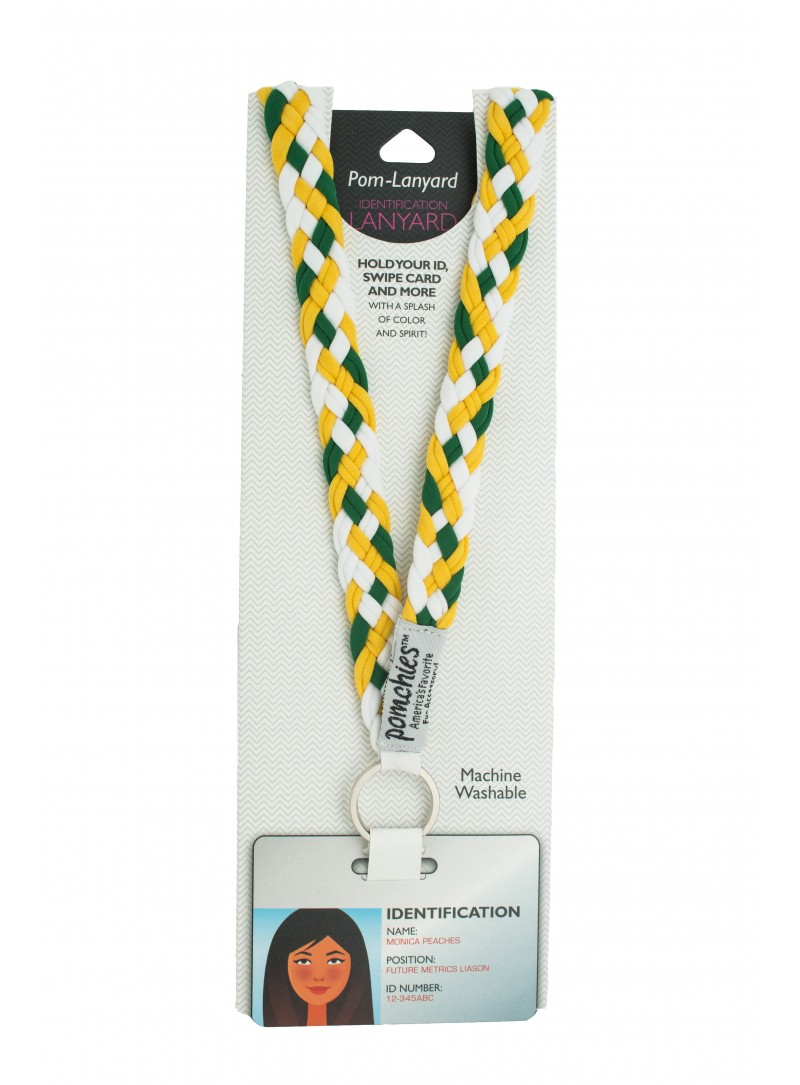 49310_Bottle Green Yellow Gold White_Lanyard-800x1085