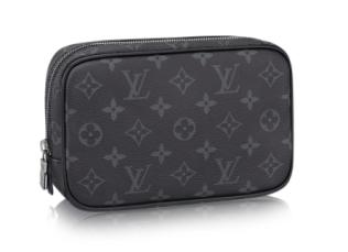LV Toilet Bag - Black