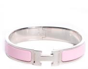 Hermes Bracelet - Pink/Silver
