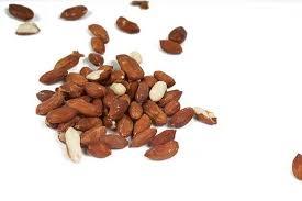 Jordnötter utan skal