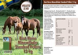 Best Horse Mineral Standard pellets 8kg hink