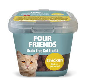 Cat Treats Chicken