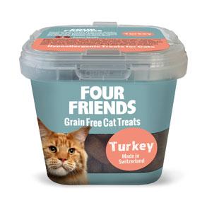 Cat Treats Turkey