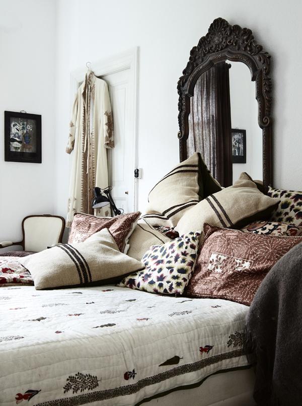 Att mixa vintage med orientaliska detaljer är också en väldigt vacker kombo.