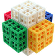 Livecube Cross Cube - Flerfärgad