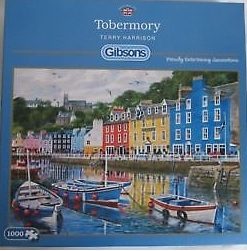Gibsons Pussel - Tobermory -